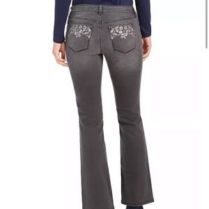 Style and co gray bootleg jeans NWT
